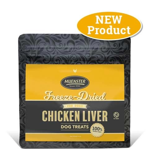Muenster Milling Co. Muenster Freeze-Dried Chicken Liver Treat 5oz Product Image