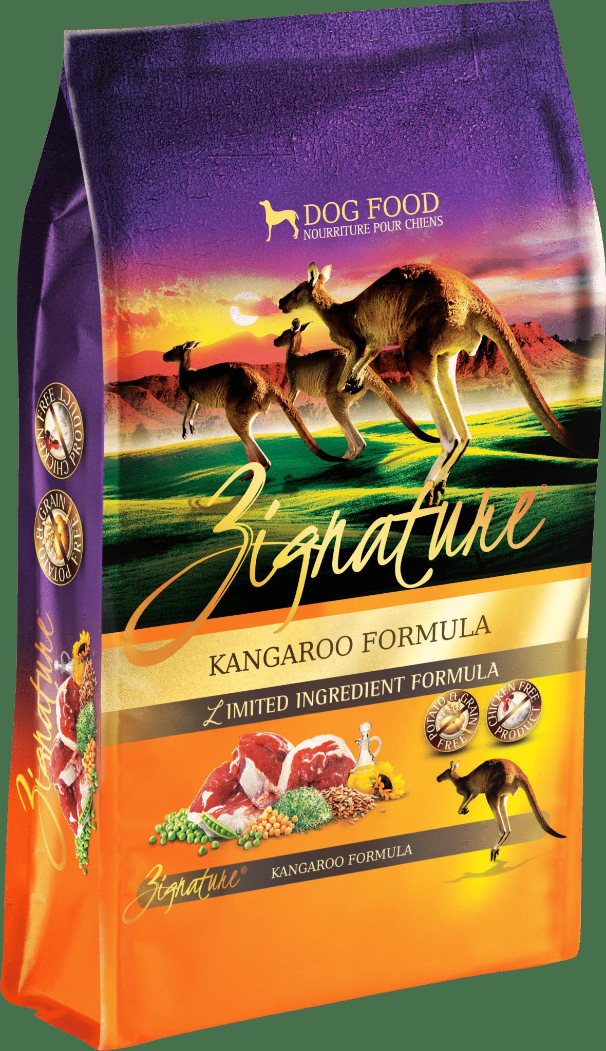 Zignature Zignature Kangaroo Limited Ingredient Formula Dog Food 4lbs Product Image