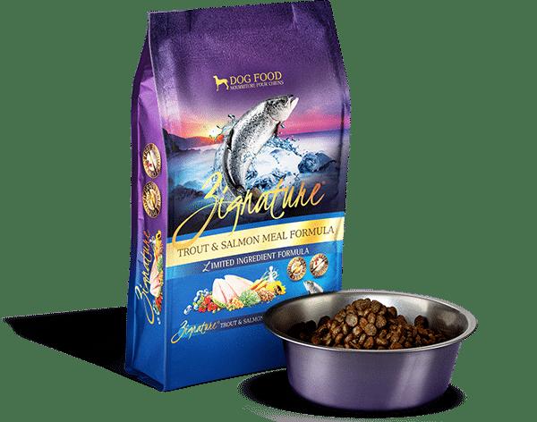 Zignature Zignature Trout & Salmon Limited Ingredient Formula Dog Food 27lb Product Image
