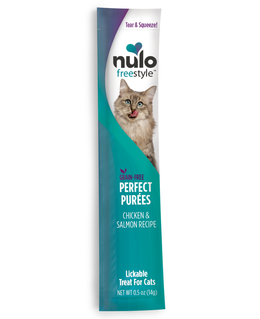 Nulo Nulo Treat Purées Grain FreeChicken and Salmon 0.5oz Product Image