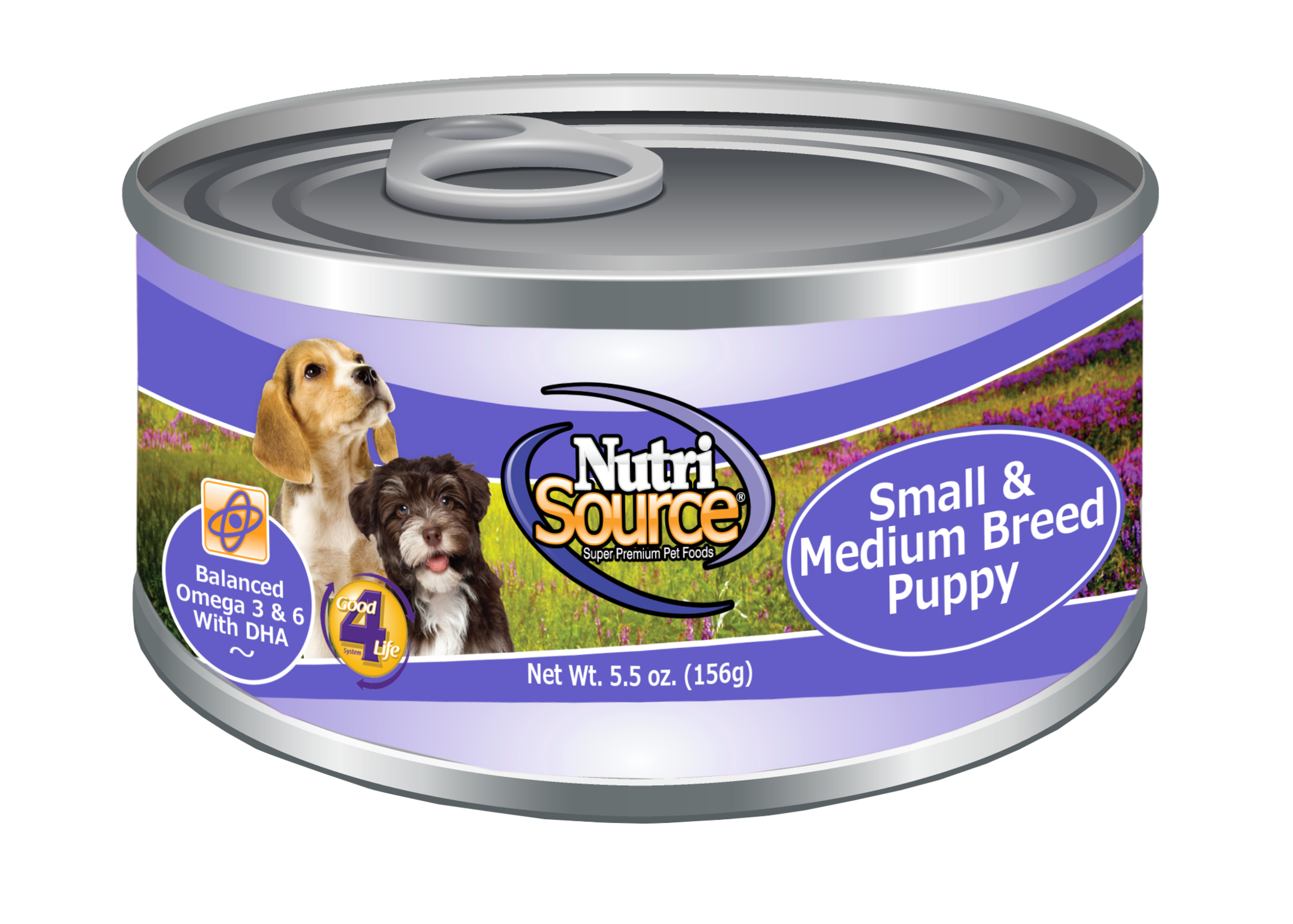 Tuffy's NutriSource  Small/Med Breed Puppy Dog Can 5.5oz Product Image