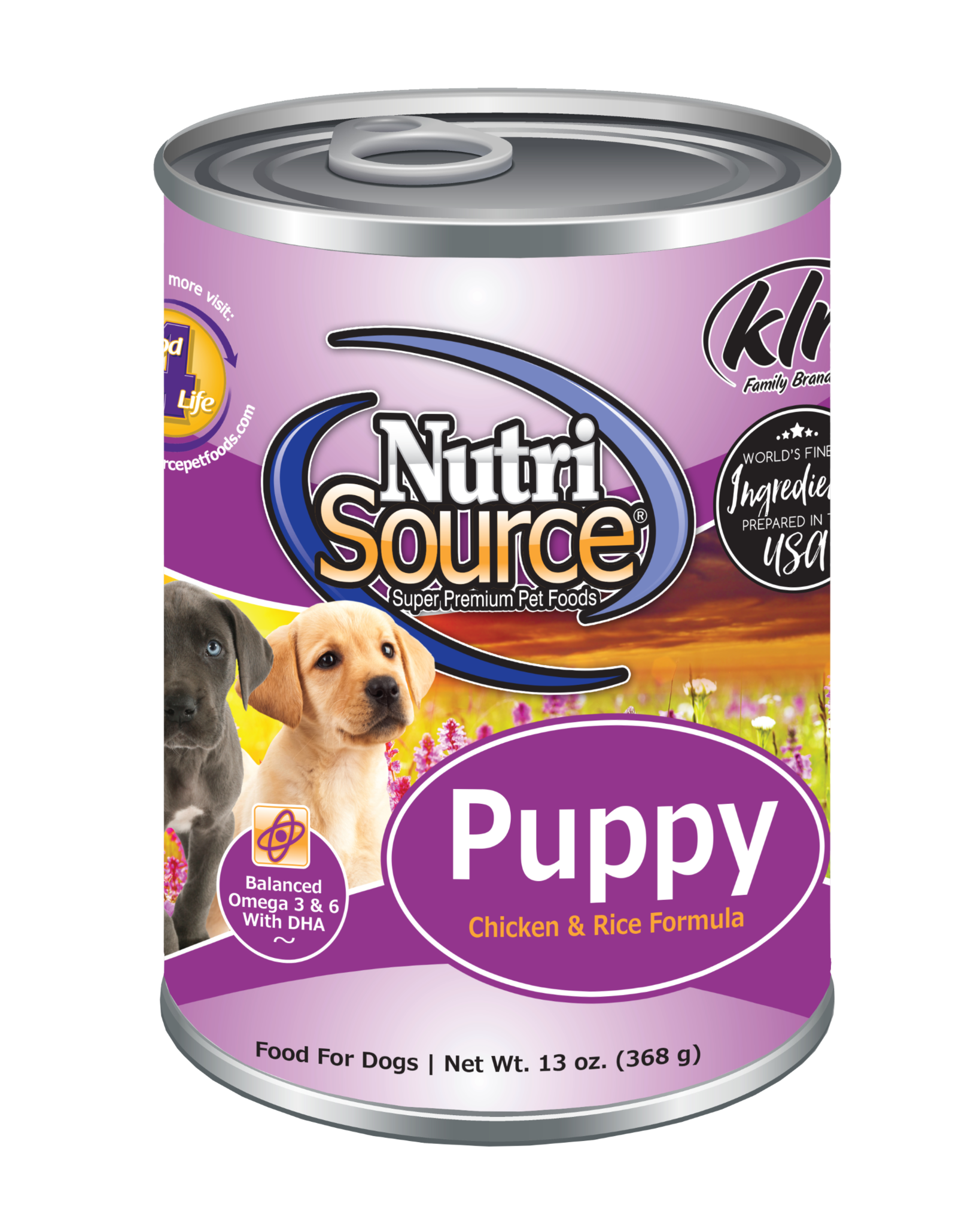 Nutrisource NutriSource  Puppy Chicken and Rice Dog Can 13oz Product Image