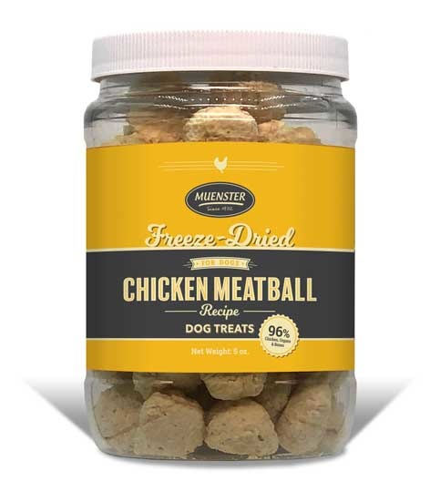 Muenster Milling Co. Muenster Freeze Dried Chicken Meatballs 5oz Product Image