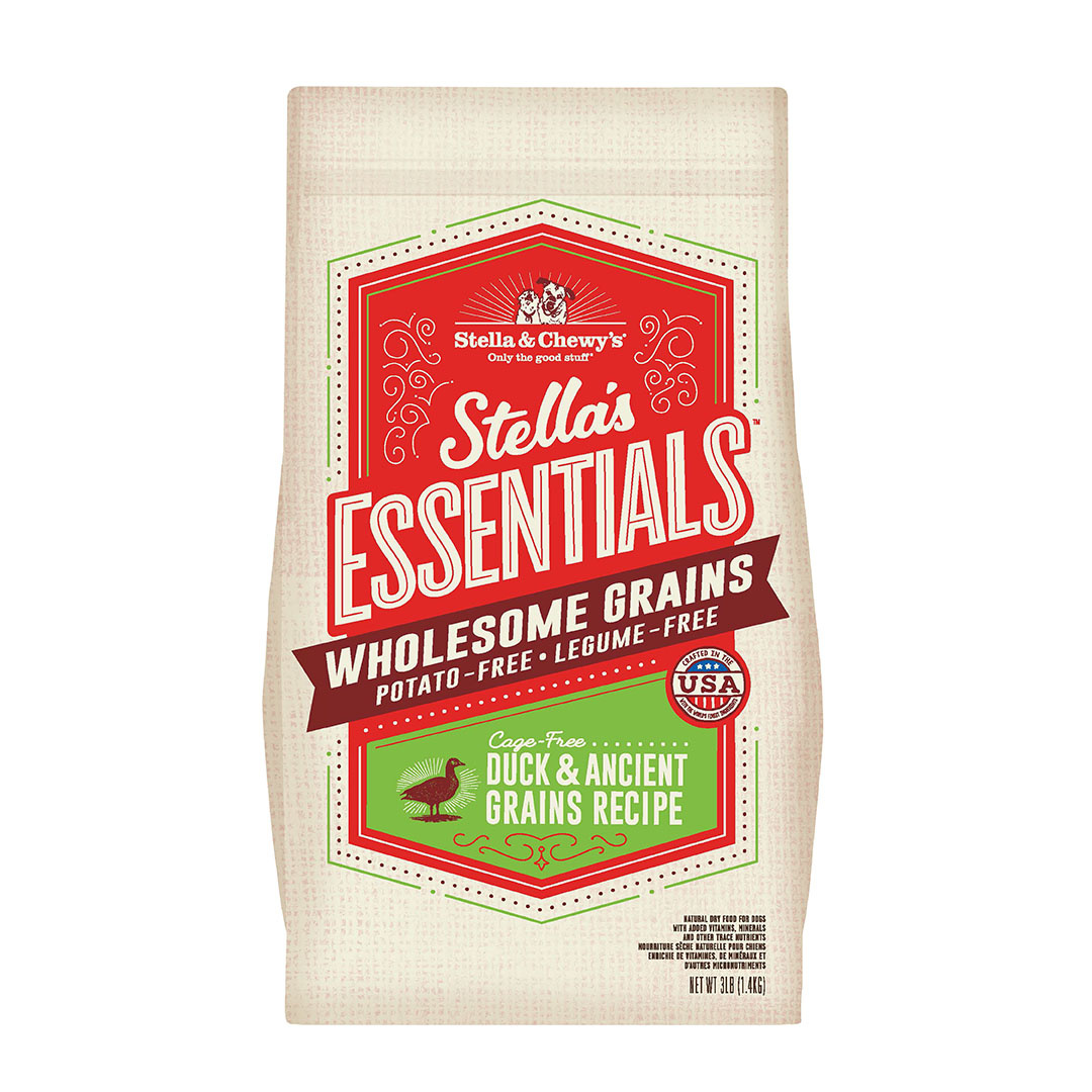 Stella & Chewy's Stella and Chewy's Essentials Duck with Ancient Grain 3# Product Image