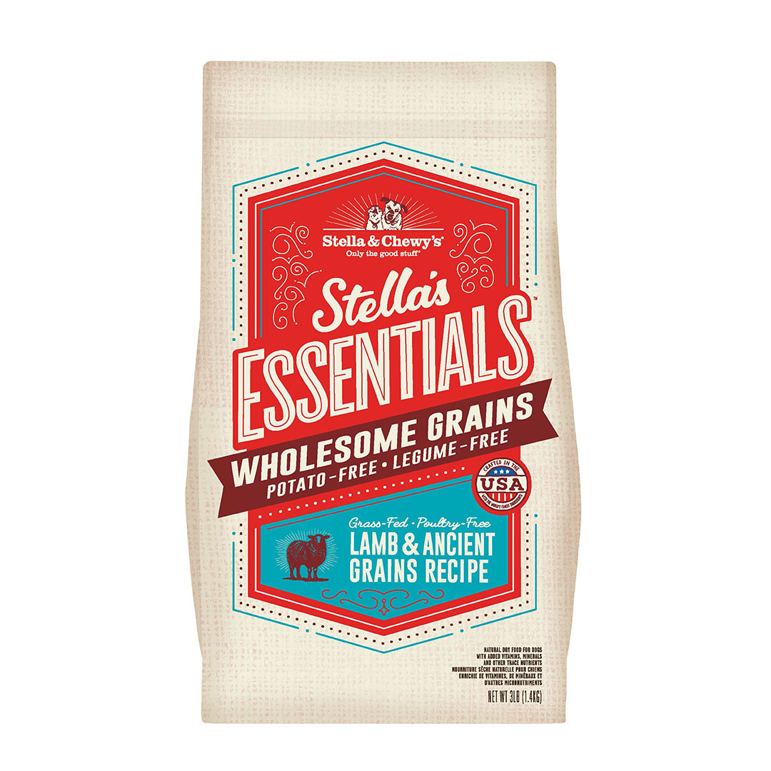 Stella & Chewy's Stella and Chewy's Essentials Lamb with Ancient Grain 3# Product Image