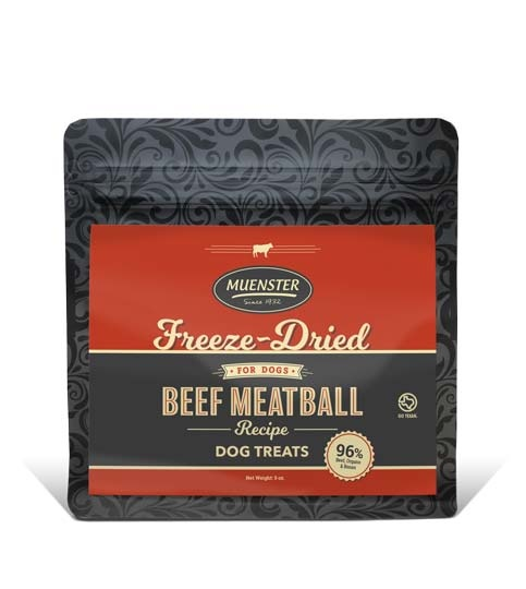 Muenster Milling Co. Muenster Freeze Dried Beef Meatballs 6oz Product Image