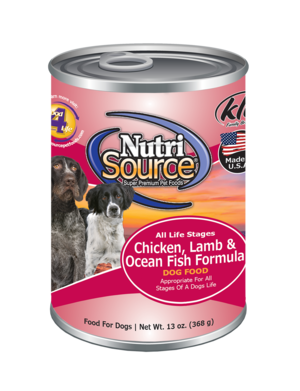 Tuffy's NutriSource Dog Can Chicken, Lamb & Ocean Fish 13 oz Product Image