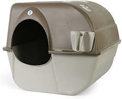 OMEGA PAW INC Omega Paw Roll 'n Clean Large Litter Box Product Image