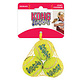 KONG Kong AirDog Squeaker Tennis Ball Small 3 Pack Product Image