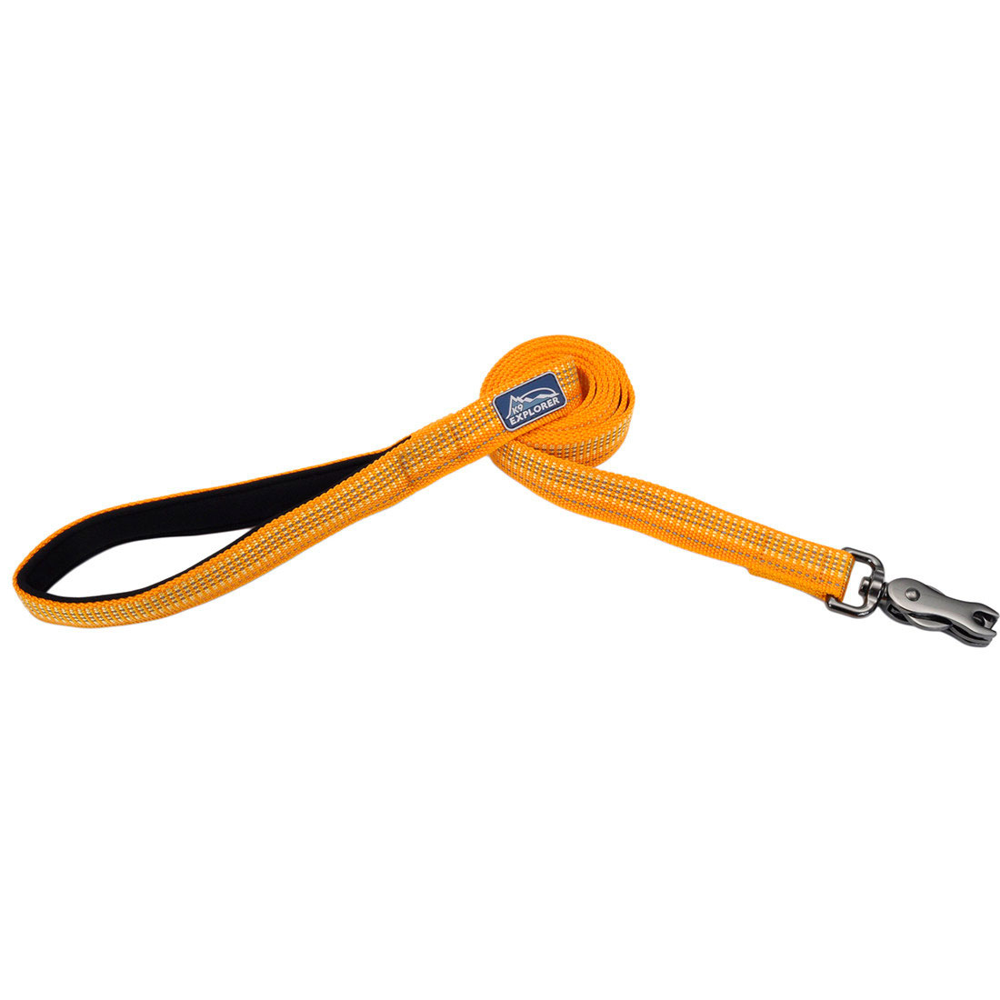 "Coastal Coastal K9 Reflective Lead 6' Desert Orange 1"" Product Image"