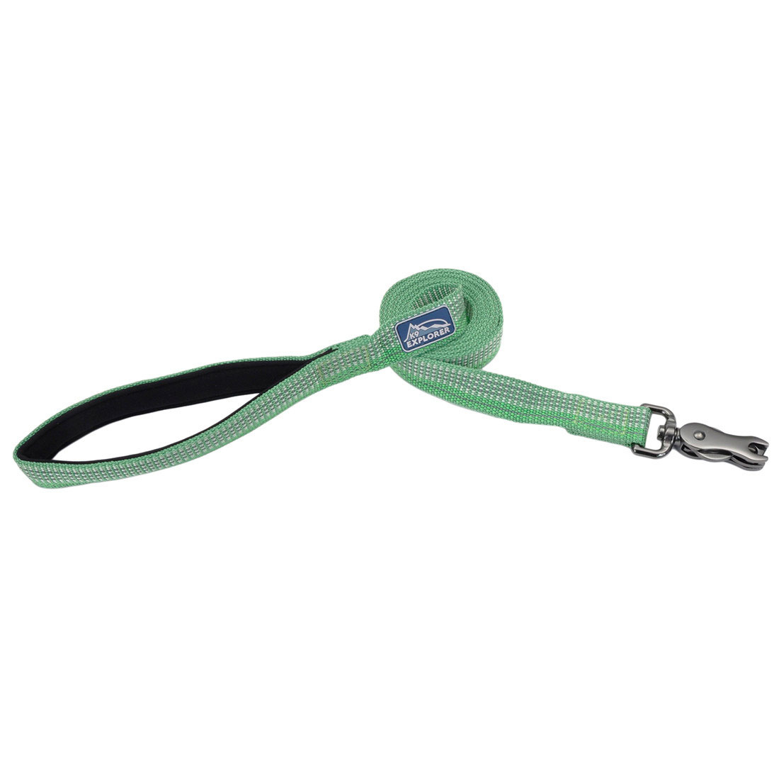"Coastal Pet Coastal K9 Reflective Lead 6' Meadow Green 5/8"" Product Image"