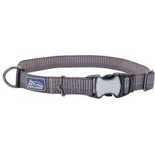 "Coastal Pet Coastal K9 Mountain Grey 5/8"" Small Adjustable Collar Product Image"