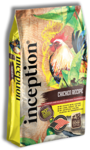 PETS GLOBAL INC Inception Chicken Recipe Dog Food 4lbs Product Image