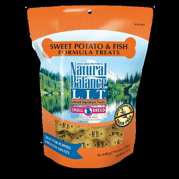 Natural Balance Natural Balance LIT Sweet Potato and Fish Treats 8oz Product Image
