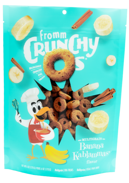 Fromm Fromm Crunchy O's Banana Kablammas 6oz Product Image