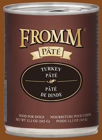 Fromm Fromm Turkey Pate Dog Can 12.2oz Product Image
