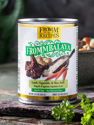 Fromm Fromm Frommbalaya Lamb, Vegetables, & Rice Stew 12.5oz Product Image