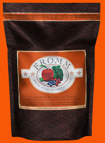 Fromm Fromm 4 Star Grain Free Game Bird Recipe Cat Food 2lbs Product Image