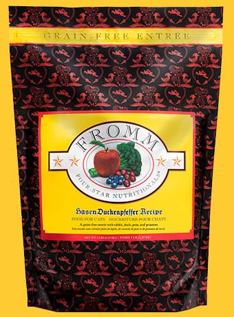 Fromm Fromm 4 Star Grain Free Hasen Duckenpfeffer Cat Food 2lbs Product Image