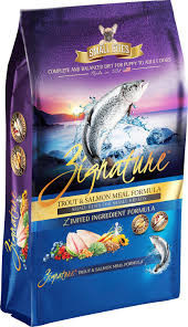 Zignature Zignature Small Bites Trout & Salmon Limited Ingredient Formula Dog Food 4lb Product Image