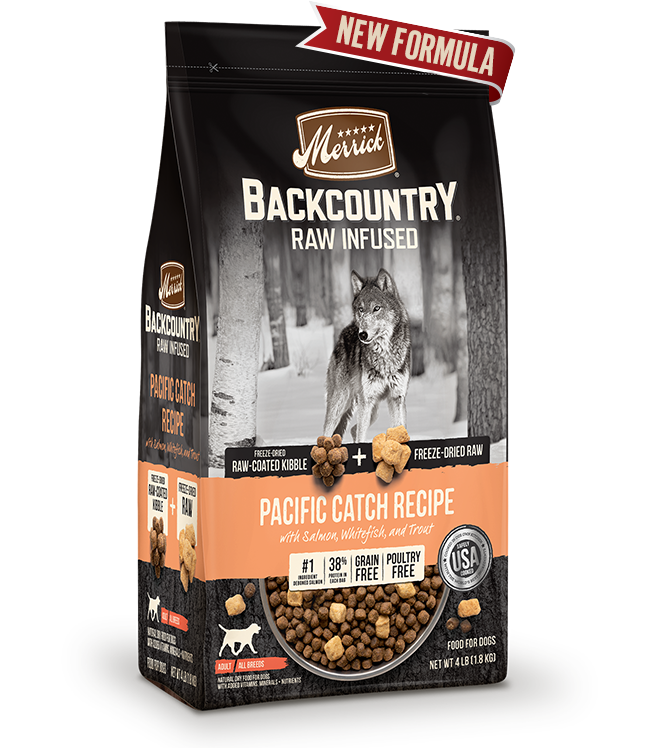 Merrick Pet Foods Merrick Backcountry Pacific Catch Dog Food 20lbs Product Image