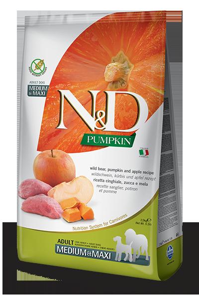 Farmina Farmina N&D Pumpkin Boar and Apple Dog Dry 26.4lbs Product Image