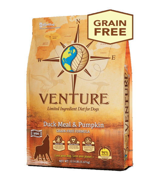 Earthborn Holistic Earthborn Venture Limited Ingredient Diet Duck Meal & Pumpkin 4lbs Product Image