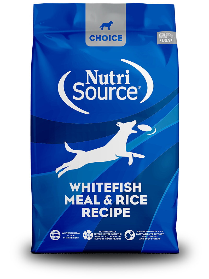Nutrisource NutriSource Choice Whitefish Meal & Rice 30lbs Product Image