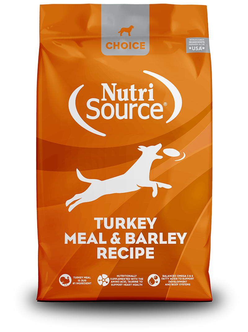 Nutrisource NutriSource Choice Turkey Meal & Barley 30lbs Product Image