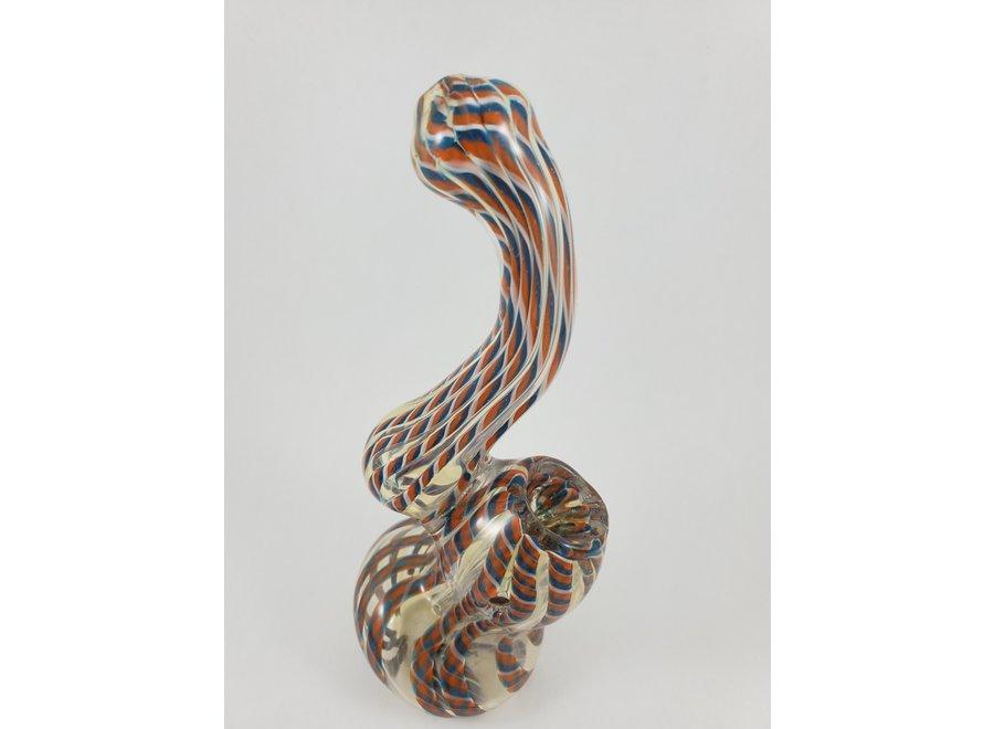 glass sherlock bubbler pipe