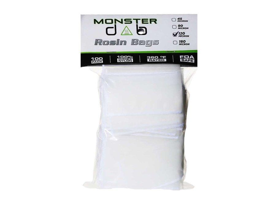 "rosin bag 2""x4"" 120micron 100pk"