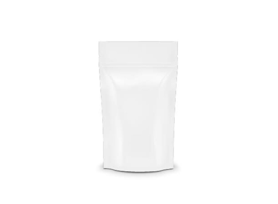 mylar bag matt white 1/2 oz