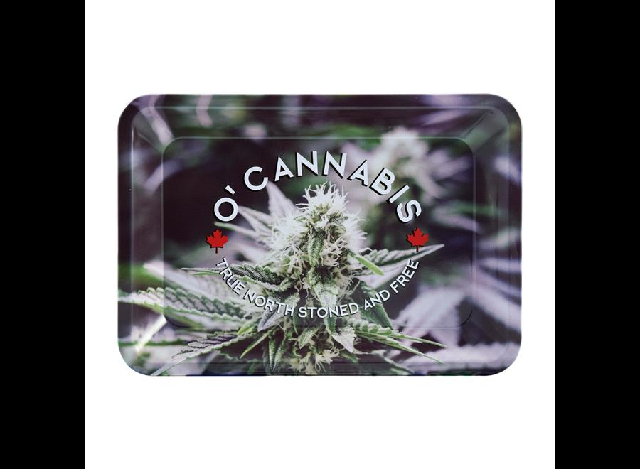 o'cannabis rolling tray mini