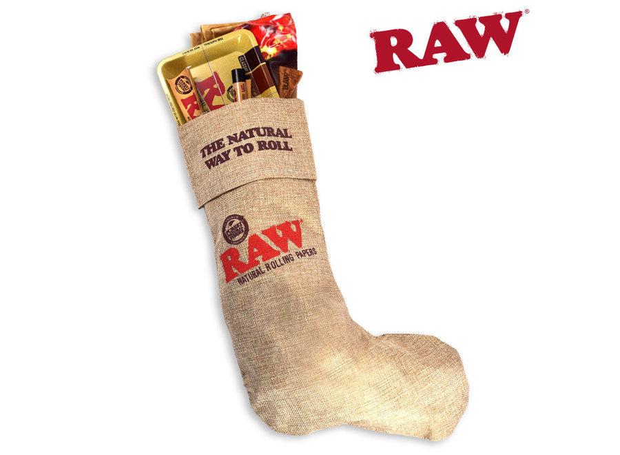Raw X-mas stocking.