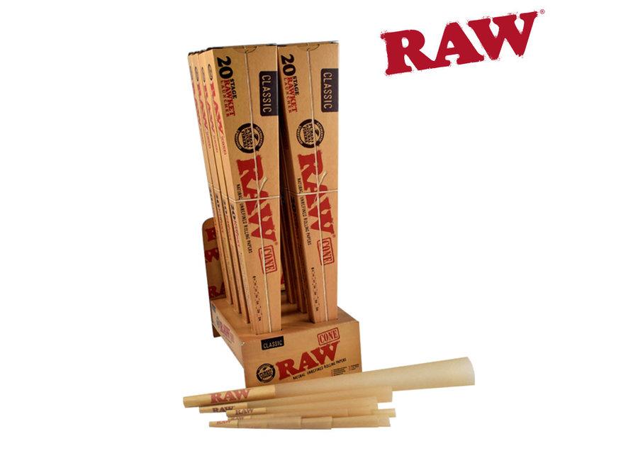 Raw Racket launcher cones. 20pk