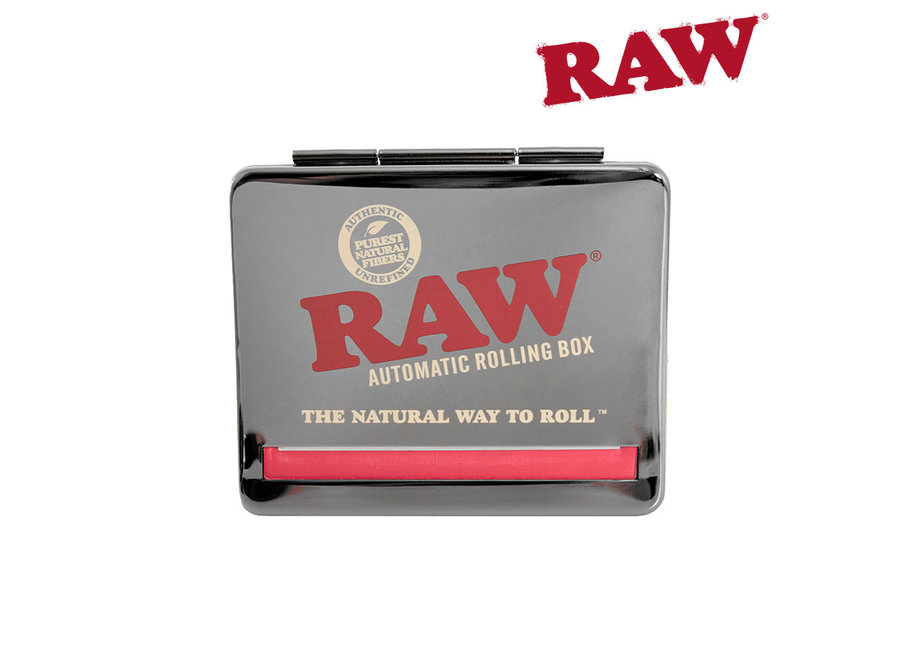 Raw adjustable automatic rolling box