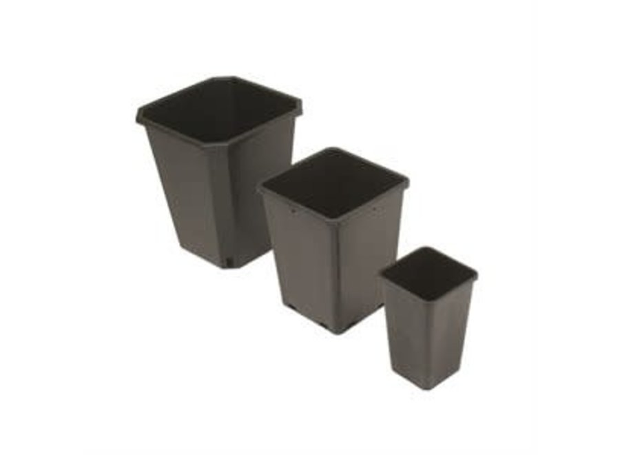 3 gal / 12 L Square Pot