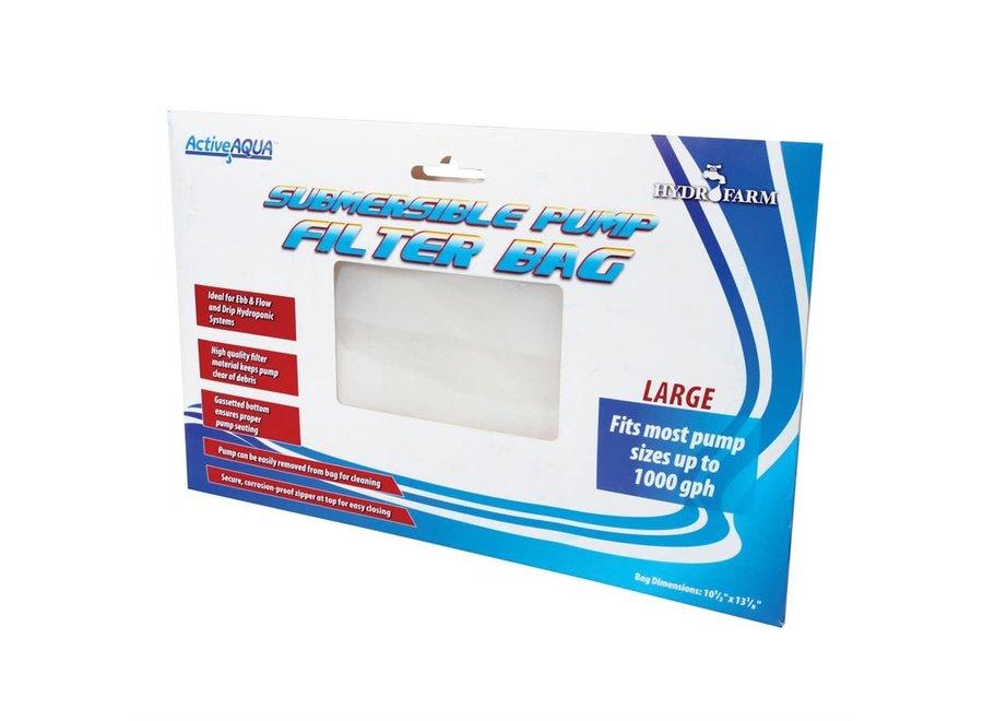 """Active Aqua 10"""" Pump Filter Bag 10.5 x 13.125"""