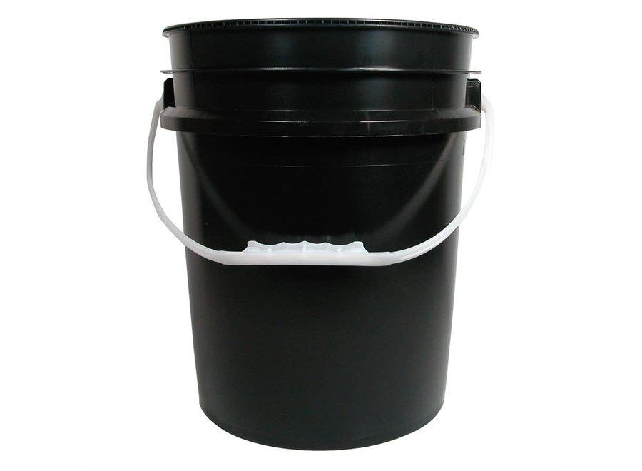 Bucket black 3.5 gal