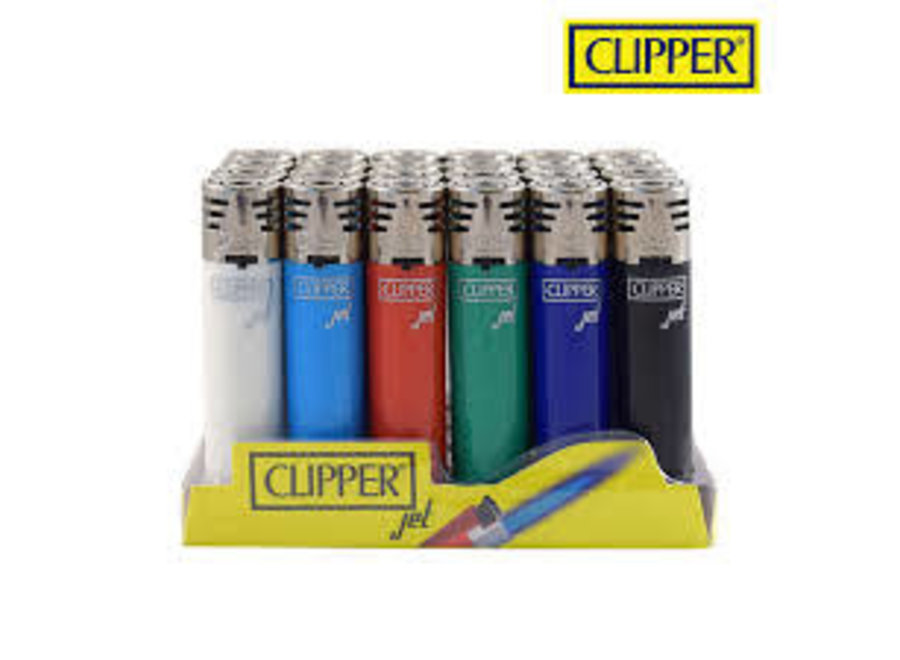 Clipper Lighter Jet Flame solid