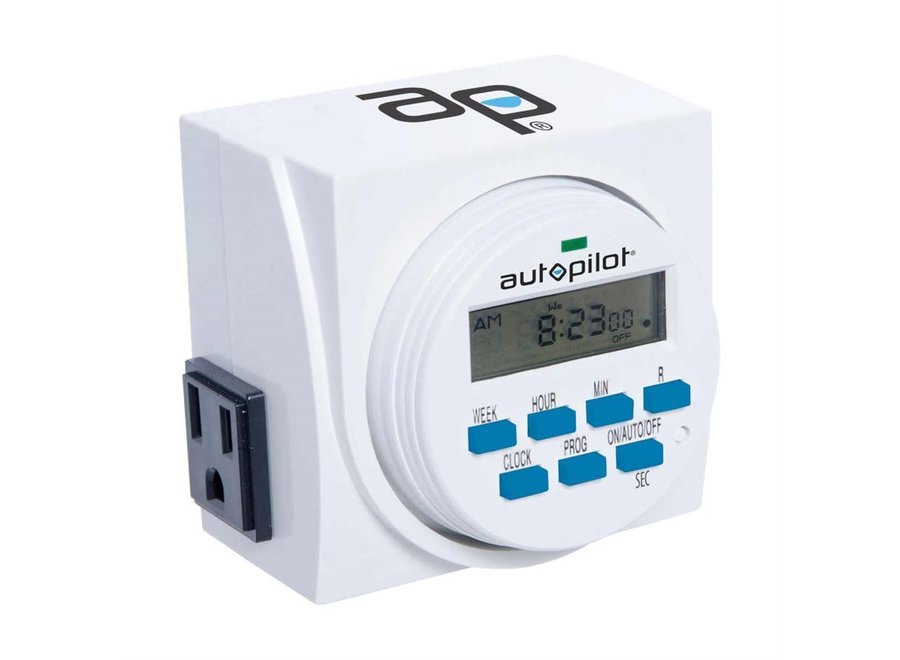 Dual Digital Grounded Timer 7 day
