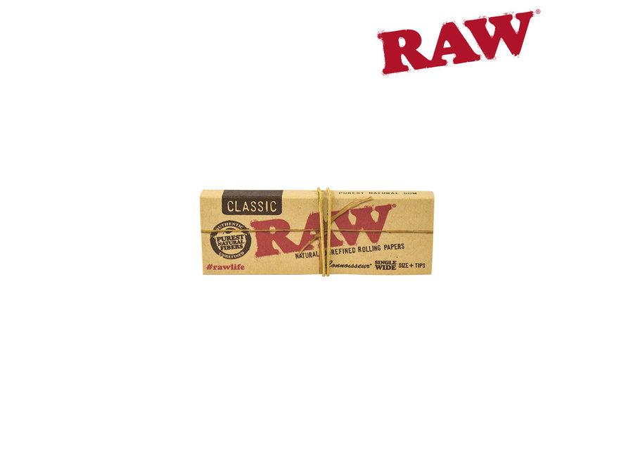 RAW classic single wide connoisseur single