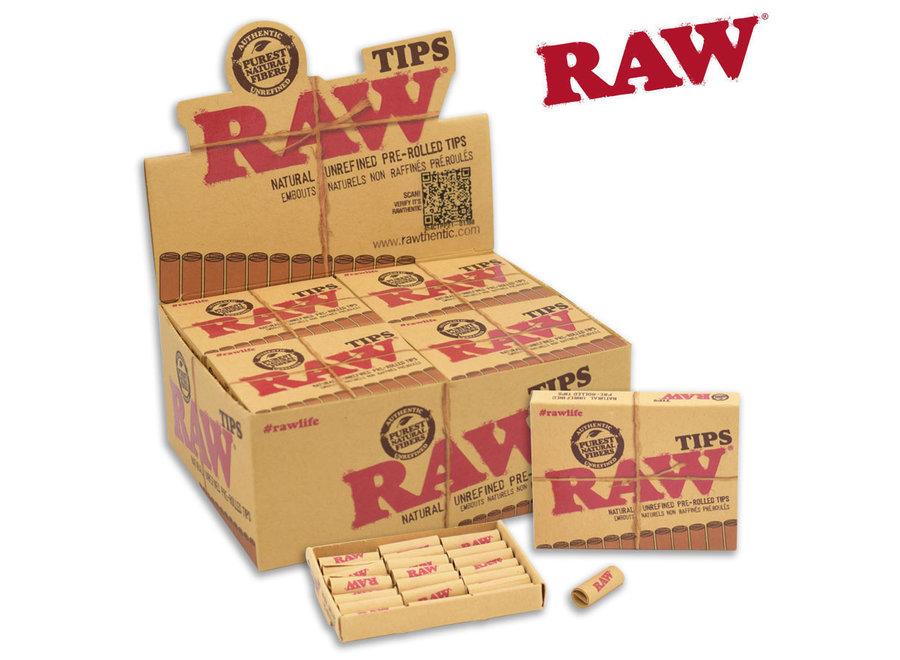 RAW tips 21pk single