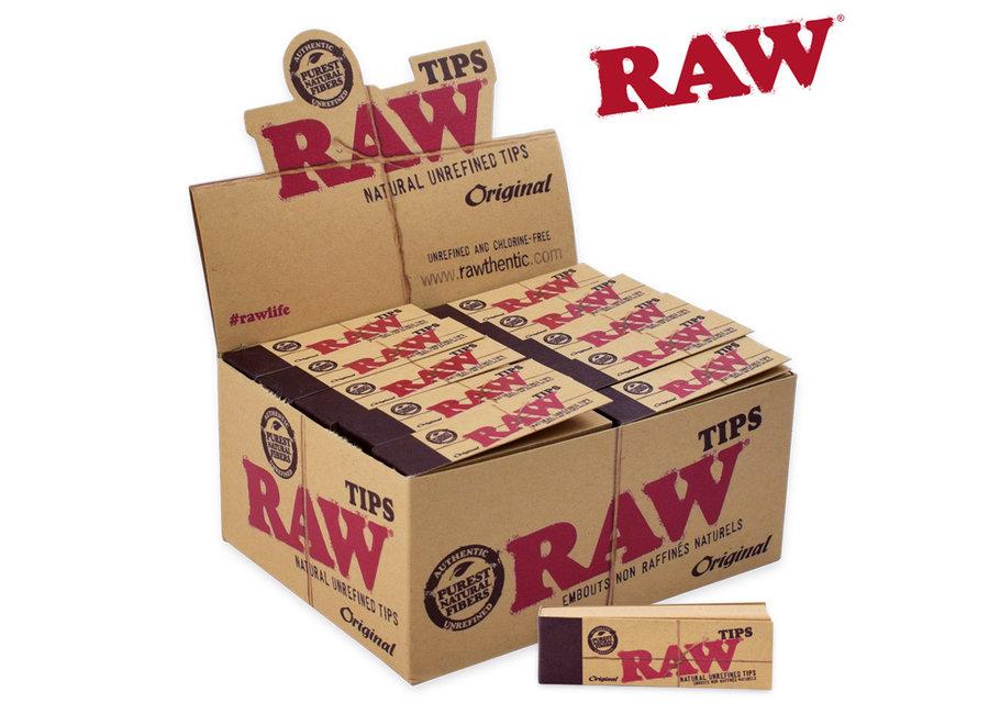 RAW Tips 50pk flip single