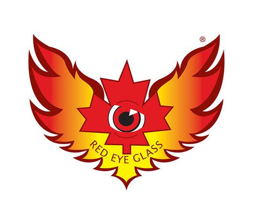Red Eye Glass