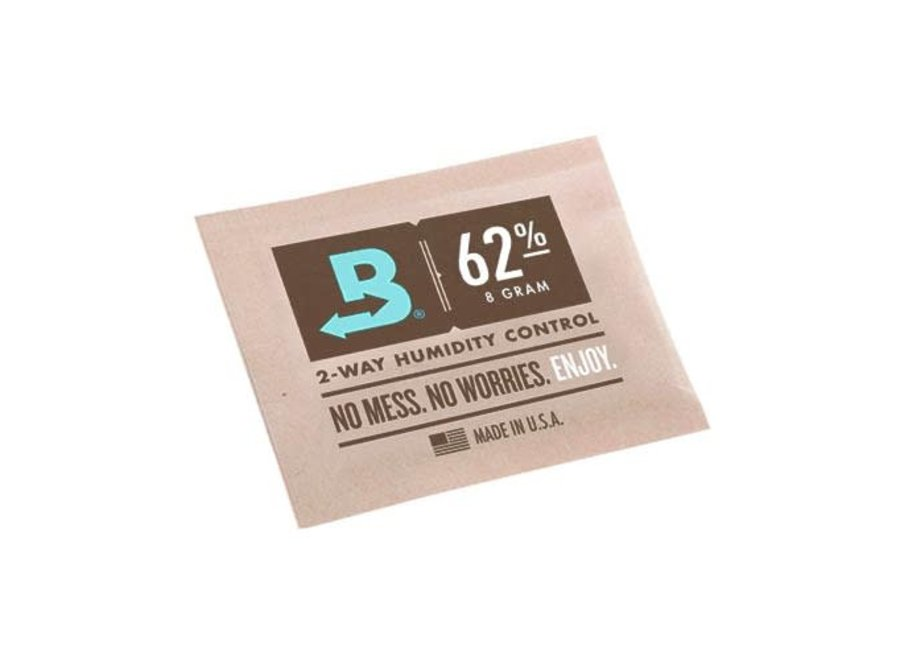 Bodeva 62%  8g single box/100 pc single