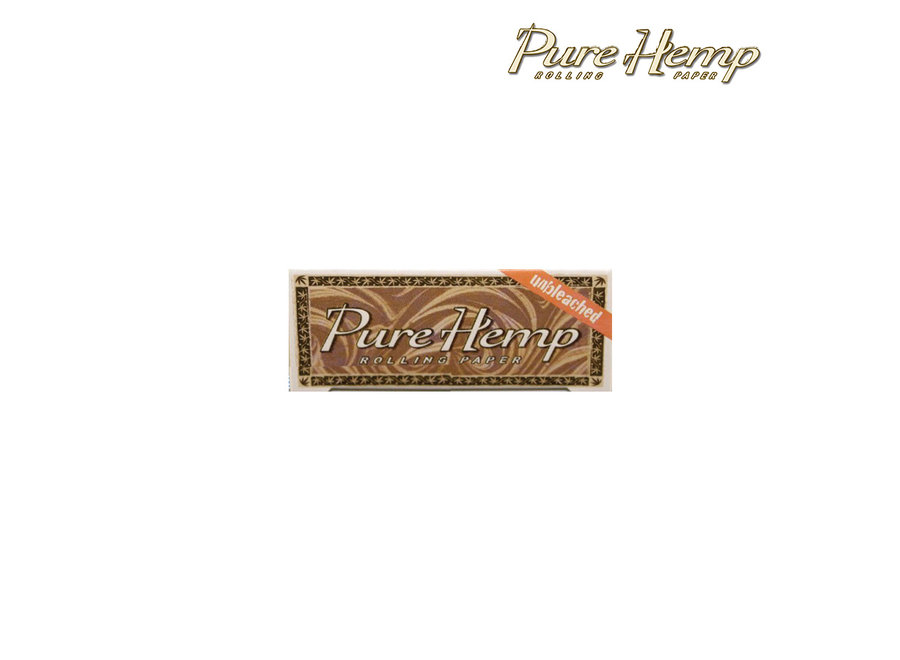 Pure Hemp Unbleached Rolling Papers single