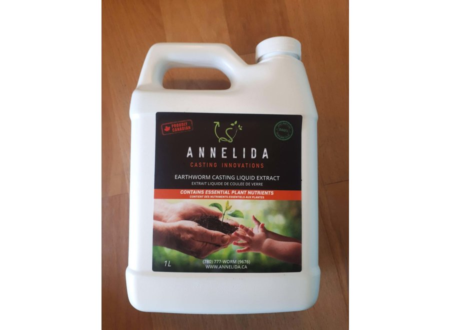 Liquid extract earth worm castings 10 litre Annelida