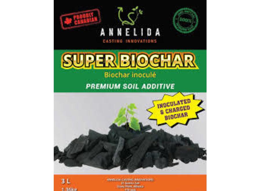 Super biochar Annelida biochar