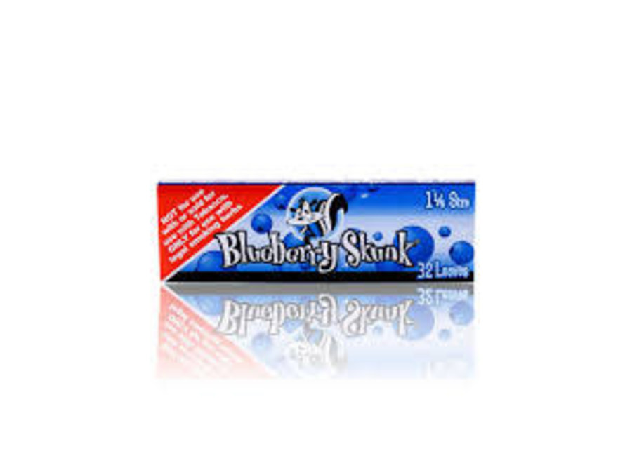 skunk blueberry rolling papers 1 1/4